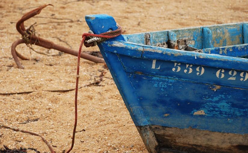 Das unfreiwillige Rätsel und ein Boot, das deswegen noch nicht auf Grund läuft