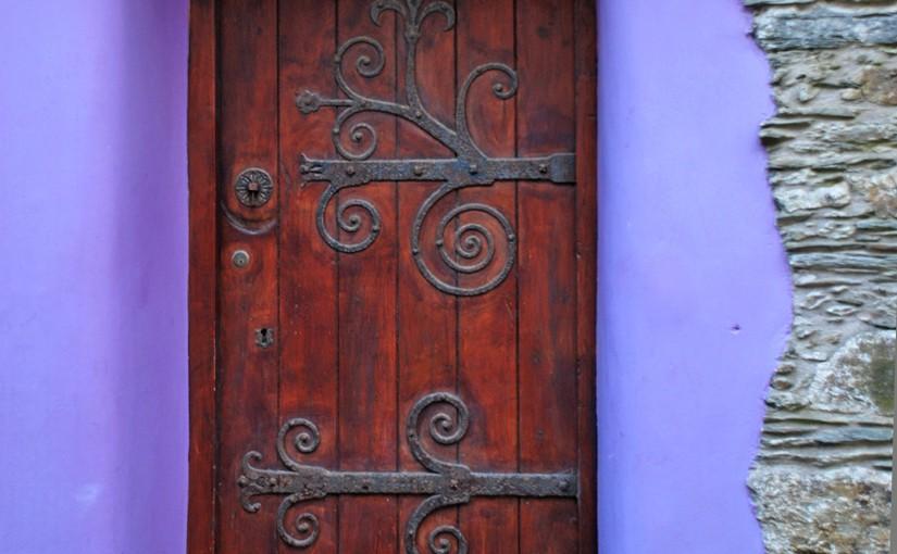 Das Klopfen an der Tür