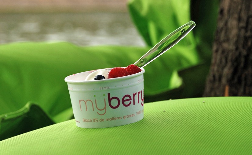 My Berry Eisbecher als Symbol für Mass Customization