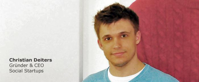 Christian Deiters, Gründer & CEO Social Startups