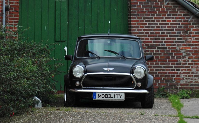 Mini als Symbol für Drivenow