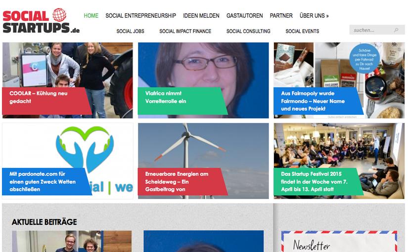 Ausflug: Social-Startups.de