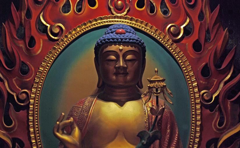 Budda als Symbol für Muße