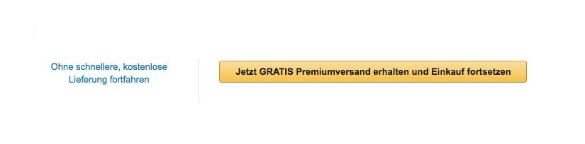 Amazon Button für Premiumversand