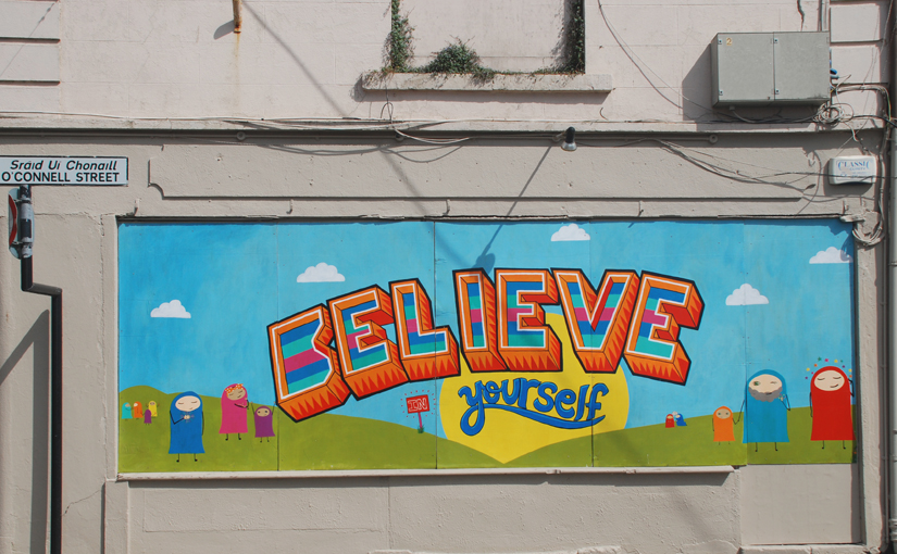 Graffiti: Believe in yourself